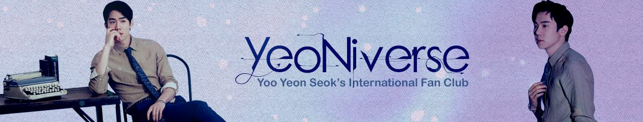 YeoNiverse – Yoo Yeon Seok International Fan Club