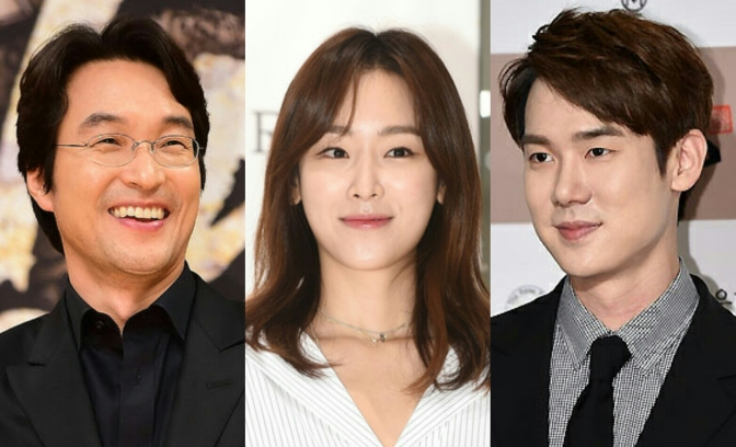 [Eng] (Comments) Han Suk Kyu • Seo Hyun Jin • Yoo Yeon Seok confirmed for SBS drama 'Romantic Doctor'
